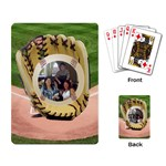 Baseball playing cards - Playing Cards Single Design (Rectangle)