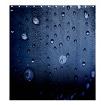 water drop - Shower Curtain 66  x 72  (Large)