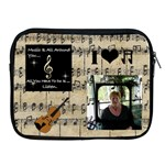 Music Apple iPad Zipper Case