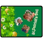 st patrick s Day - Fleece Blanket (Large)