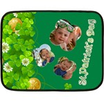 st patrick s Day - Double Sided Fleece Blanket (Mini)