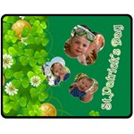 st patrick s Day - Fleece Blanket (Medium)