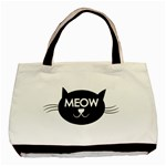 Meow cat - Basic Tote Bag (Two Sides)