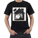 Men s t-shirt black - Men s T-Shirt (Black)