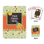 Playing Cards-Fanciful Fun 2 - Playing Cards Single Design (Rectangle)