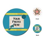 Playing Cards-Fanciful Fun 4 - Playing Cards Single Design (Round)