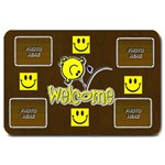 Smiley Welcome Mat, large - Large Doormat