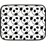 panda - Double Sided Fleece Blanket (Mini)
