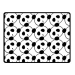panda - Double Sided Fleece Blanket (Small)