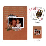 Playing Cards: No. 1 Dad - Playing Cards Single Design (Rectangle)