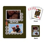 Playing Cards: Dad - Playing Cards Single Design (Rectangle)