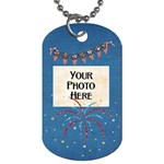 Celebrate America Dog Tag 4 - Dog Tag (Two Sides)