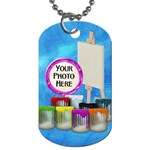 Artist Dog Tag 2 sided 1 - Dog Tag (Two Sides)