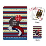 Celebrate America Playing Cards 2a - Playing Cards Single Design