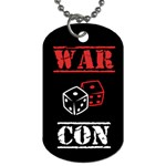 WARCON - Dog Tag (One Side)