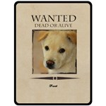 wanted - Fleece Blanket (Large)