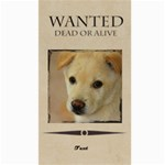 wanted - Canvas 40  x 72