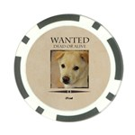 wanted - Poker Chip Card Guard (10 pack)