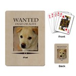 wanted - Playing Cards Single Design (Rectangle)
