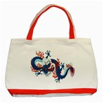 dragon - Classic Tote Bag (Red)