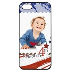 july 4 usa - Apple iPhone 5 Seamless Case (Black)