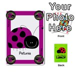 LADYBUG LUNCH DECK 2 - SHARED - Playing Cards 54 Designs