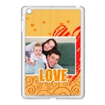 love - Apple iPad Mini Case (White)