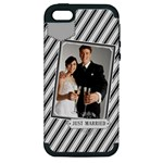 wedding - Apple iPhone 5 Hardshell Case (PC+Silicone)