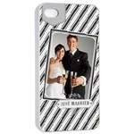 wedding - iPhone 4/4s Seamless Case (White)