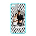 wedding - iPhone 4 Case (Color)
