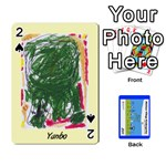 Kindy Cards Final - Playing Cards 54 Designs (Rectangle)