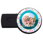 summer - USB Flash Drive Round (4 GB)