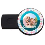 summer - USB Flash Drive Round (2 GB)