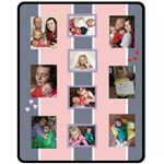 Phil Pink - Fleece Blanket (Medium)