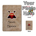 seven spears expansion toyotomi - Multi-purpose Cards (Rectangle)
