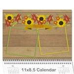 Year Review 2019 calendar - Wall Calendar 11  x 8.5  (12-Months)