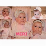 miri - 5  x 7  Photo Cards