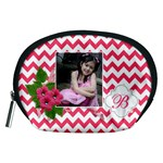 Pouch (M): Pink Chevron - Accessory Pouch (Medium)