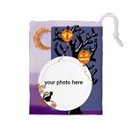 Halloween Night Drawstring Pouch L - Drawstring Pouch (Large)