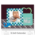 kids, child - Wall Calendar 8.5  x 6