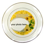 Honey Plate - Porcelain Plate