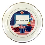 4 July Plate - Porcelain Plate