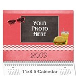 2019 Our Backyard Party Calendar - Wall Calendar 11  x 8.5  (12-Months)