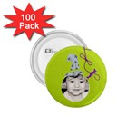 1.75 button 100 pack - 1.75  Button (100 pack)