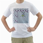 men s t-shirt white - Men s T-Shirt (White)