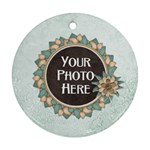 Autumn s Pleasure Ornament - Ornament (Round)