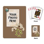 Autumn s Pleasure Playing Cards - Playing Cards Single Design (Rectangle)