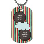 Lively Dog Tag - Dog Tag (One Side)