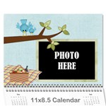 2019 At the Park Calendar - Wall Calendar 11  x 8.5  (12-Months)
