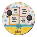 May I? Mousepad - Round Mousepad